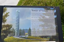 Tower of Voices Flight 93 Ride 2019